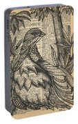 Ptarmigan Wings Portable Battery Charger