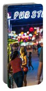 Pub Street Cambodia Night Vendors Portable Battery Charger