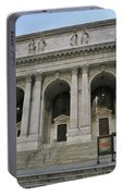 Public Library New York City Portable Battery Charger