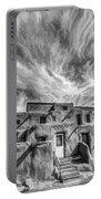 Pueblo Storm Clouds Portable Battery Charger
