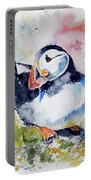 Puffin On Stone Portable Battery Charger