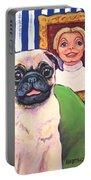 Pug - Beth Ann And Butch Portable Battery Charger