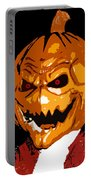 Pumpkin Head Portable Battery Charger