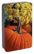 Pumpkin Still Life  Portable Battery Charger