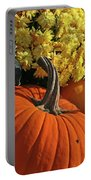 Pumpkin Still Life  Portable Battery Charger