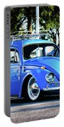 Punch Buggie Blue Portable Battery Charger