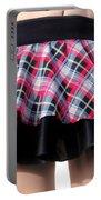 Punk Style Mini Skirt - Ameynra Fashion Portable Battery Charger