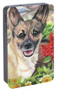 Pup In The Garden Portable Battery Charger