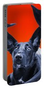 Puppy Dog Panoramic Montage Portable Battery Charger