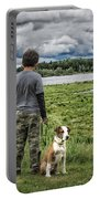 Puppy Guard Majestic Forest Portable Battery Charger