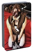 Puppy Play. Human Canine Training Portable Battery Charger