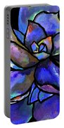 Purple Agave Portable Battery Charger