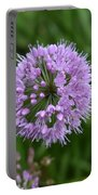 Purple And The Bee Portable Battery Charger