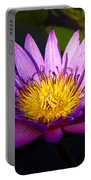 Purple And Yellow Portable Battery Charger