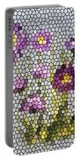 Purple Asters II  Portable Battery Charger