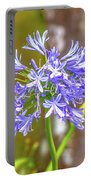 Purple Bells And Blossoms Portable Battery Charger