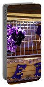 Purple Birdhouses 1 Portable Battery Charger
