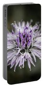 Purple Bloom Portable Battery Charger
