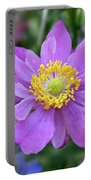 Purple Blossom 1 Portable Battery Charger