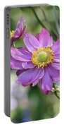 Purple Blossoms 2 Portable Battery Charger
