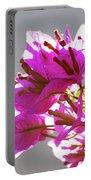 Purple Bougainvillea Flower Portable Battery Charger