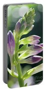 Purple Buds Portable Battery Charger