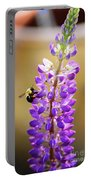 Purple Buzz Portable Battery Charger