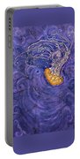 Purple Calm Portable Battery Charger