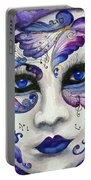 Purple Carnival Portable Battery Charger