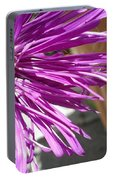 Purple Chinese Aster Portable Battery Charger
