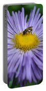 Purple Daisy And Guest Portable Battery Charger