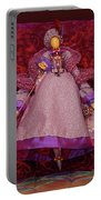 Purple Doll Portable Battery Charger
