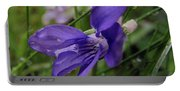 Purple Flower 2 Portable Battery Charger