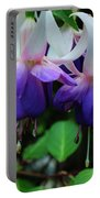 Purple Fuschia Portable Battery Charger