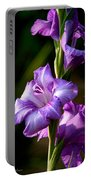 Purple Glads Portable Battery Charger