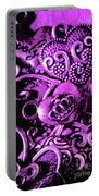 Purple Heart Collection Portable Battery Charger