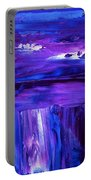Purple Hue Portable Battery Charger