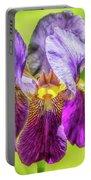 Purple Iris 2018 Portable Battery Charger