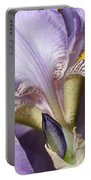 Purple Iris Beauty Portable Battery Charger