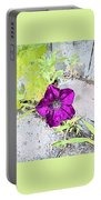 Purple Portable Battery Charger