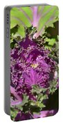 Purple Kale Portable Battery Charger
