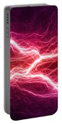 Purple Lightning Portable Battery Charger