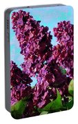 Purple Lilac 2 Portable Battery Charger