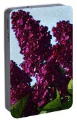 Purple Lilac 3 Portable Battery Charger