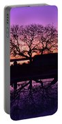 Purple Majesty Portable Battery Charger