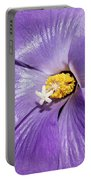 Purple Mallow Mist Portable Battery Charger