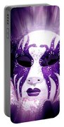 Purple Mask Flash Portable Battery Charger