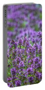 Purple Meadow 3 Portable Battery Charger