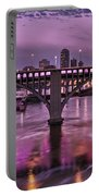 Purple Minneapolis For Prince Portable Battery Charger