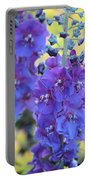 Purple Mullein Portable Battery Charger